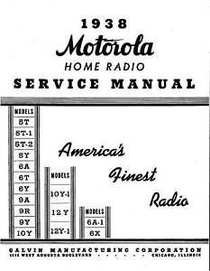 Motorola Schematics, Farm, Radio, Auto, Service Manuals