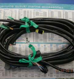 suzuki outboard 21ft main wiring harness 36620 93j02 [ 1024 x 768 Pixel ]