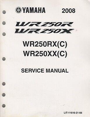 2008 YAMAHA MOTORCYCLE WR250RX(C),WR250XX(C) SERVICE
