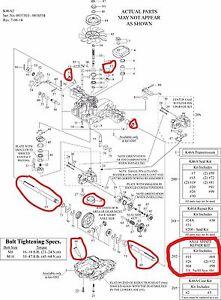 Tuff Torq K46 Rebuild Kit : rebuild, Genuine, Shaft, Repair, Transmission, 1A646099730