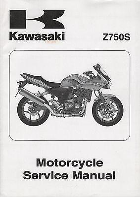 2005 KAWASAKI MOTORCYCLE Z750S SERVICE 99924-1344-01 (891