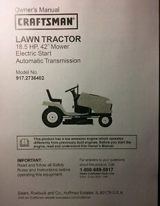 Dyt 4000 Parts : parts, Sears, Craftsman, DYT4000, Riding, Tractor, Owner, Parts, Manual, 917.2736402