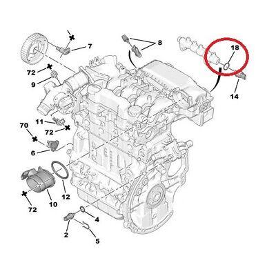 Joint de capteur de pression de carburant Peugeot Citroen