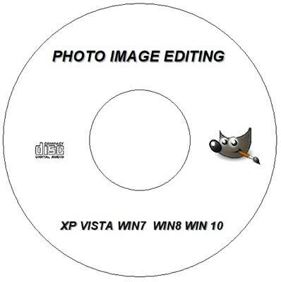 Gimp Photo Editor Professional BILDBEARBEITUNG Software CD