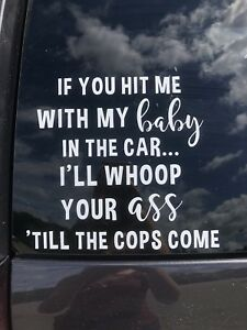 Your My Baby : Window, Decal, Whoop