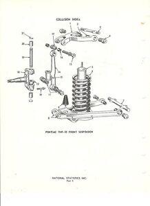 1949 1950 1951 1952 1953 1954 Pontiac NOS Front Suspension