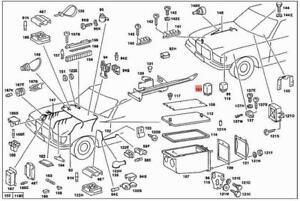Genuine Relay MERCEDES C107 R107 S123 W107 W116 W123 W126
