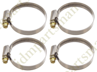 Narrow Band 9mm Steel Hose Clamp 60-80mm - Made in Germany ...