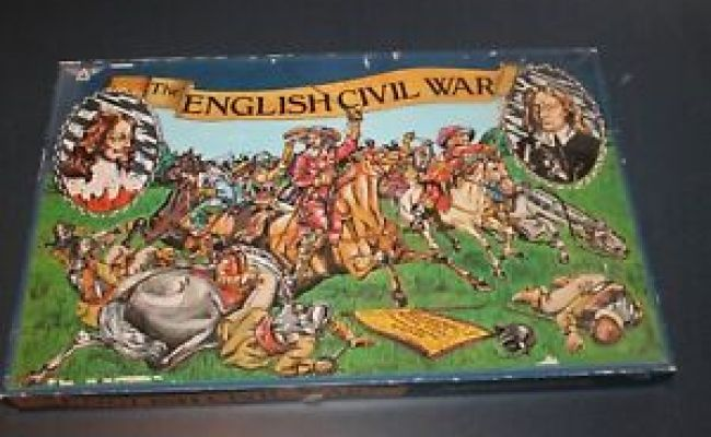 The English Civil War Board Game Unpunched Not Avalon