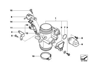 Injection Valve, 13647685373, Bmw, F650CS, G650 Xchallenge