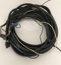 johnson evinrude omc outboard vro tilt trim 5 pin wire harness [ 1600 x 1422 Pixel ]