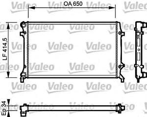 Engine Cooling Radiator VALEO Fits AUDI A3 SEAT Altea