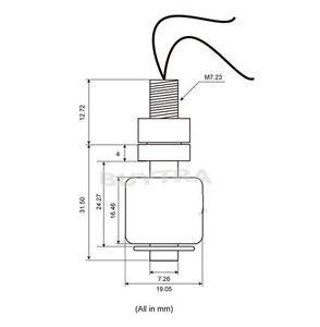 New Hot Sale Small Liquid Water Level Sensor Horizontal