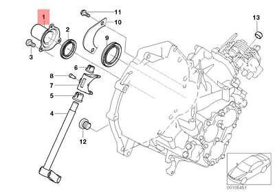 Genuine Gearbox Guide Tube MINI Cooper One R50 R52 R53