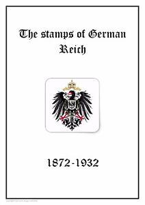 GERMANY Deutsches Reich 1872-1932 PDF(DIGITAL) STAMP ALBUM