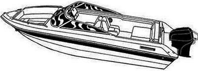 7oz STYLED TO FIT BOAT COVER LARSON SEI 210 O/B 2002-2003