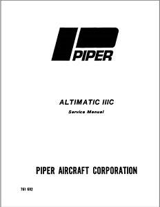 Piper Altimatic IIIC autopilot factory Service Overhaul