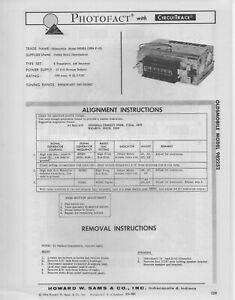 1963 OLDSMOBILE F-85 982252 AUTO RADIO SERVICE MANUAL