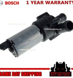 details about vw auxiliary secondary electric water pump oem mk4 mk3 1 8t vr6 gti jetta 94 05 [ 1024 x 1024 Pixel ]
