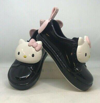 Mini Melissa Hello Kitty Toddler Shoes Black Size 9 | eBay