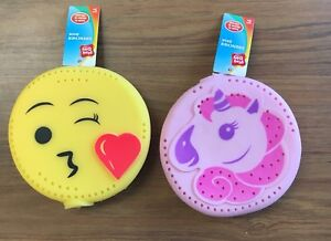Lot of 2 Play Day Drencher Disk Unicorn & Emoji Water Swimming Pool Toy 889834145350   eBay