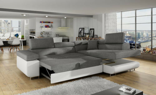 corner sofa bed oslo mini storage container sleep function new reclining sofas rooms to go anton with and 2 of 4