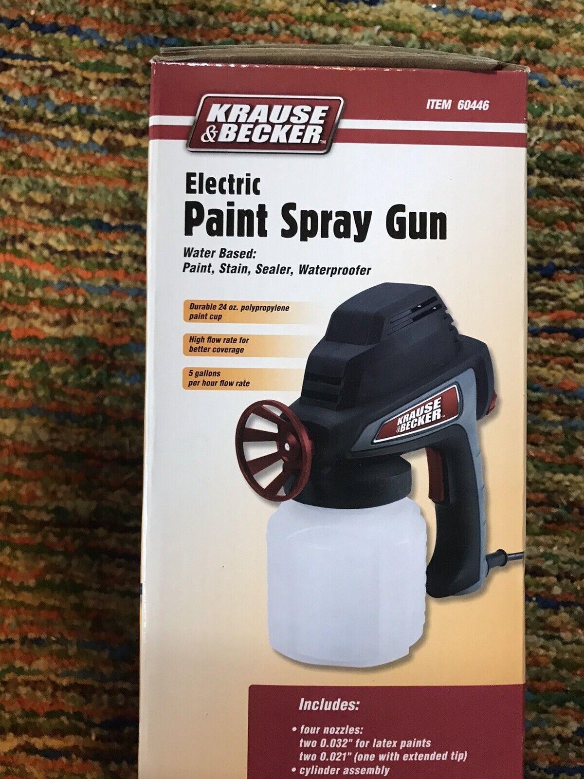 Krause And Becker Airless Sprayer : krause, becker, airless, sprayer, Krause, Becker, Electric, Paint, Spray, Durable, Polypropylene, Online