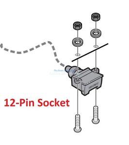 Isuzu D-MAX MY21 Genuine 12-Pin Tow Bar Towbar Wiring