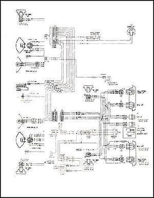Mid-1975 Gmc Astro 95 Chevy Titan 90 diagrama de cableado
