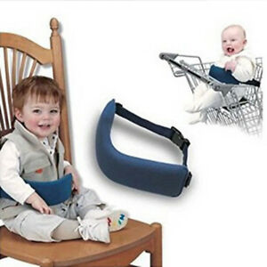 portable high chair booster herman miller chairs uk baby travel dinning safety seat strap image is loading