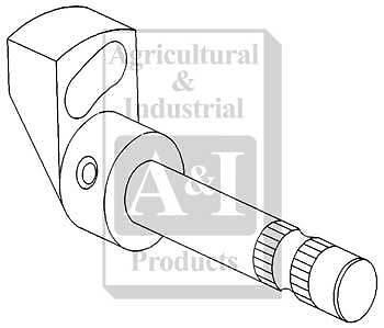 A-190960M92 Massey Ferguson Parts DIFF LOCK CAM & SHAFT