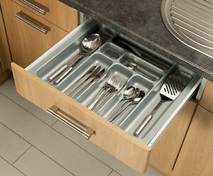 kitchen tray pass through window grey cutlery box insert cabinet w 30 90cm drawer image is loading