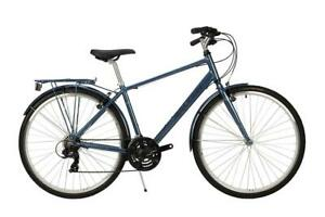 Raleigh Pioneer Mens Rigid Hybrid Bike 700c Bicycle, 21