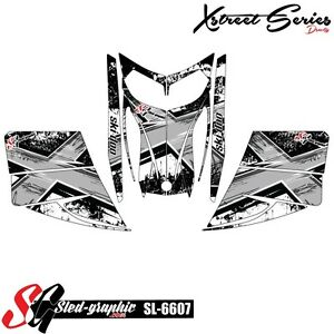 SLED WRAP DECAL STICKER GRAPHICS KIT FOR SKI-DOO REV MXZ