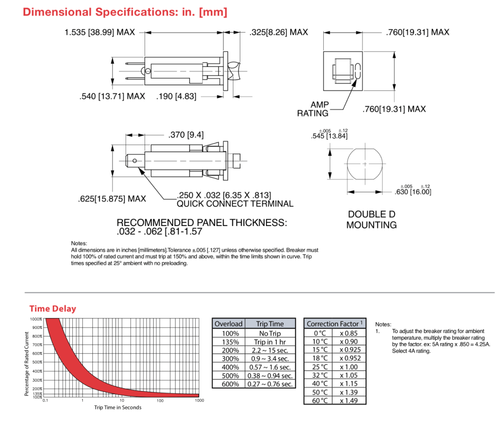 medium resolution of battery charger circuit breaker club car 48v powerdrive 2 model 22110 17930 ebay
