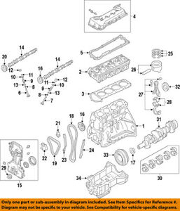 nissan frontier timing chain diagram pioneer deh p7000bt wiring oem 02 12 sentra engine guide 13091ja00a ebay image is loading