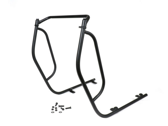 Vespa Crash Bars Non Drill Matt Black PX LML 125 150 200
