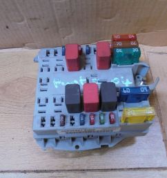 fiat punto 2004 1 2 8v external engine bay fuse box fire a653 [ 1599 x 1200 Pixel ]