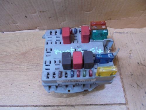 small resolution of fiat punto 2004 1 2 8v external engine bay fuse box fire a653