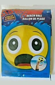 Beach Ball Emoji : beach, emoji, Emoji, Beach, Splash, Vacation, Inflatable