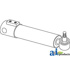 A-3773717M92 Massey Ferguson Parts CYLINDER STEERING 20D