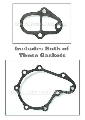 NEW 89-92 S5 Water Pump Gasket KIT For MAZDA RX7 FREE