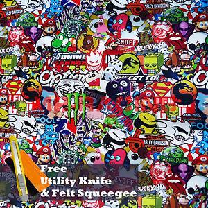 Domo Kun Iphone Wallpaper 24 Quot X60 Quot Jdm Cartoon Stickerbomb Car Laptop Vinyl Sticker
