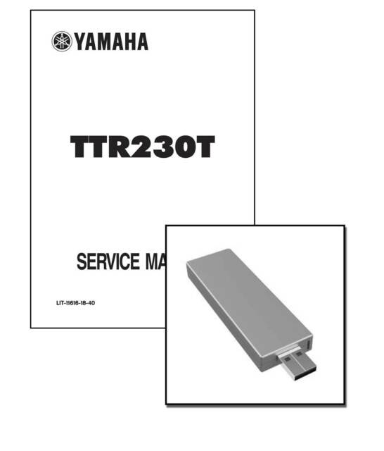 New Yamaha TTR230 T 2005 2006 2007 Workshop Repair Service