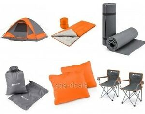 chairs for sleeping low living room camping dome tent bundle outdoors backpacking bags image is loading