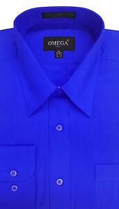 Long sleeve royal blue dress shirts for teenagers