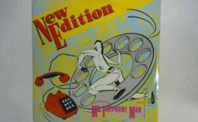 Mr Telephone Man 12in Single New Edition 1984 Mcat
