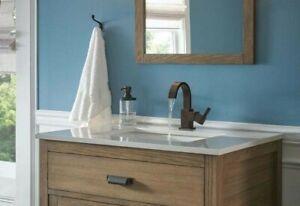 details about delta 553lf rb vero venetian bronze single handle bathroom faucet