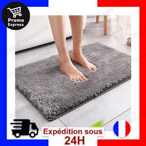 details sur tapis de bain absorbant antiderapant moelleux microfibre douche absorbant eau fr