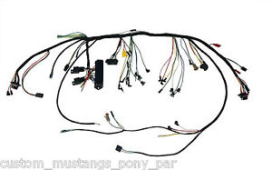 Ford Mustang Underdash Wiring Harness Modern Fusebox